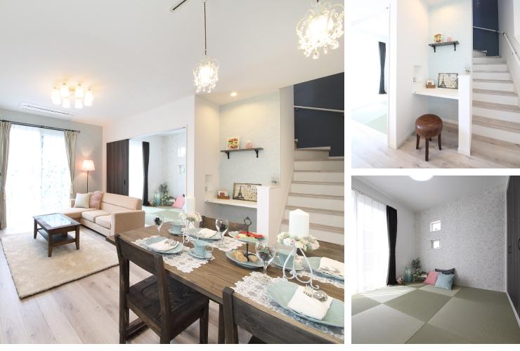 家事動線、収納、家具配置をしっかり熟慮した邸